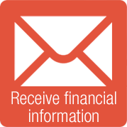 receive financial information